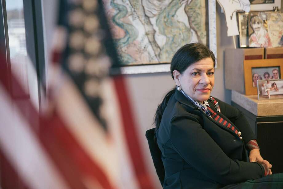 """Atlanta immigration attorney Carolina Antonini says one judge's inappropriate comments about women are """"so cumulative that it becomes like background noise."""" Photo: Lynsey Weatherspoon / Special To The Chronicle"""