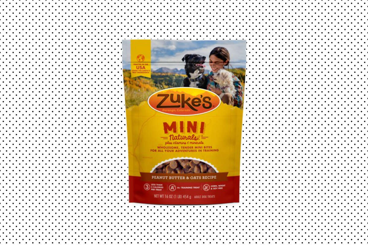 Zuke's Mini Naturals Peanut Butter & Oats Recipe Training Dog Treats, $13.01 at Chewy