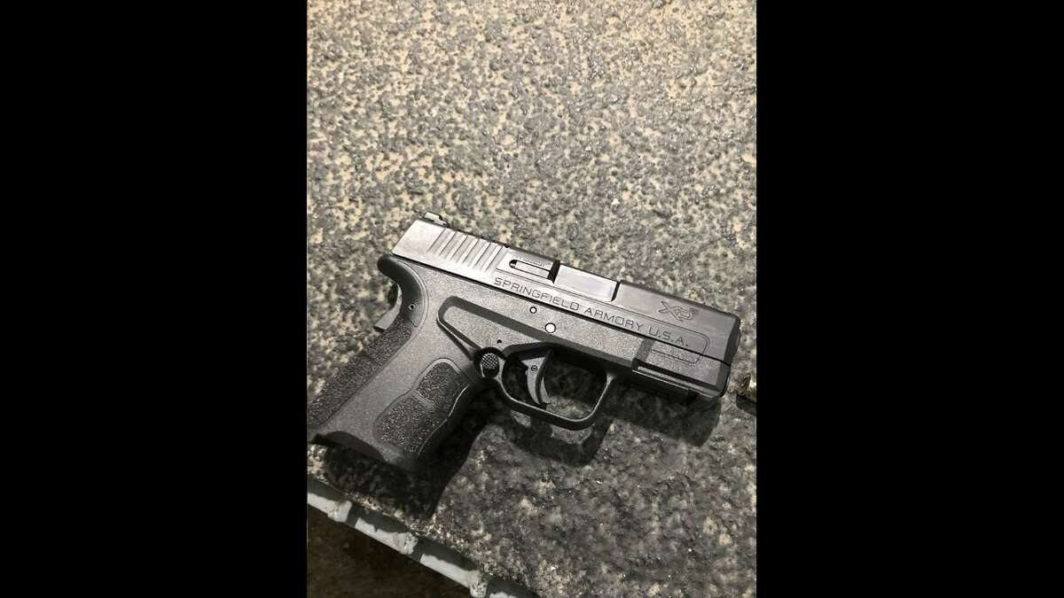 U.S. Border Patrol agents seized this firearm during a human smuggling attempt.