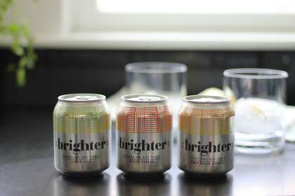 Brighter Tonic is a new brand of fizzy apple cider vinegar tonics.