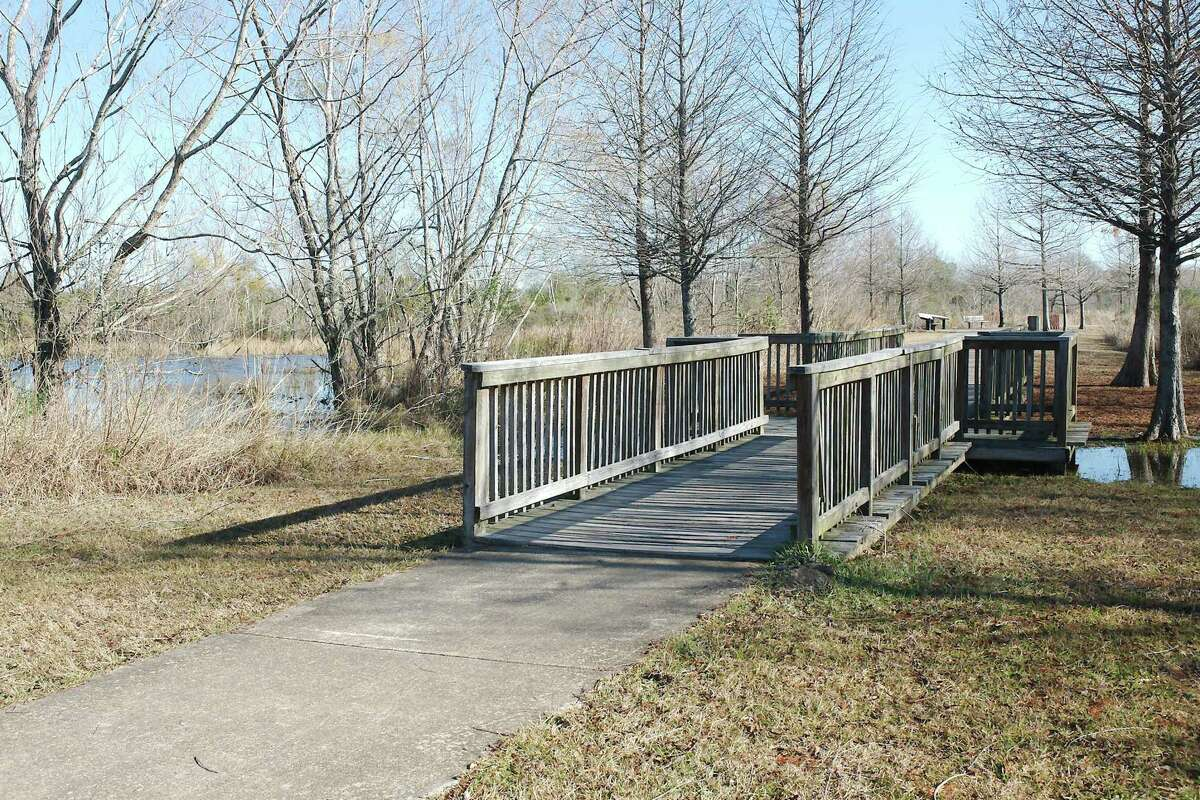 Completed in December, the Shadow Creek Nature Trail provides visitors with the opportunity to experience nature as walk, bike or jog through an adjacent wetland.