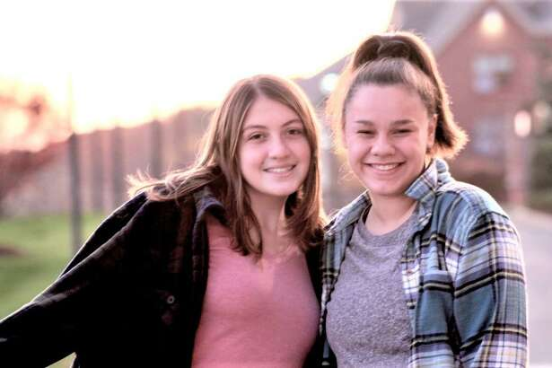 Quinnipiac University students Emily DiSalvo, left, and Jessica Simms, from Franklin, Mass., have been selected to participate in the prestigious Carnegie-Knight News21 Initiative.