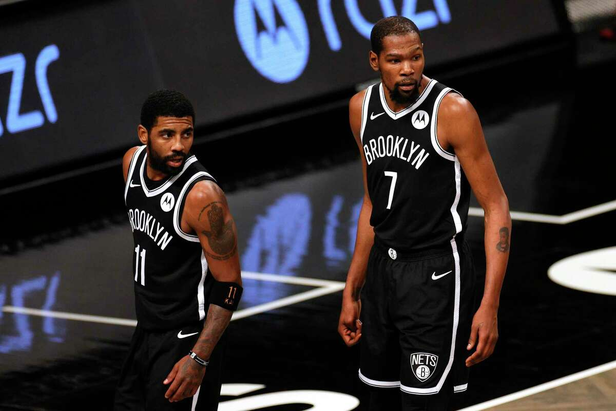 Nets general manager Sean Marks said the chance to add James Harden to Kyrie Irving and Kevin Durant was too hard to pass up.