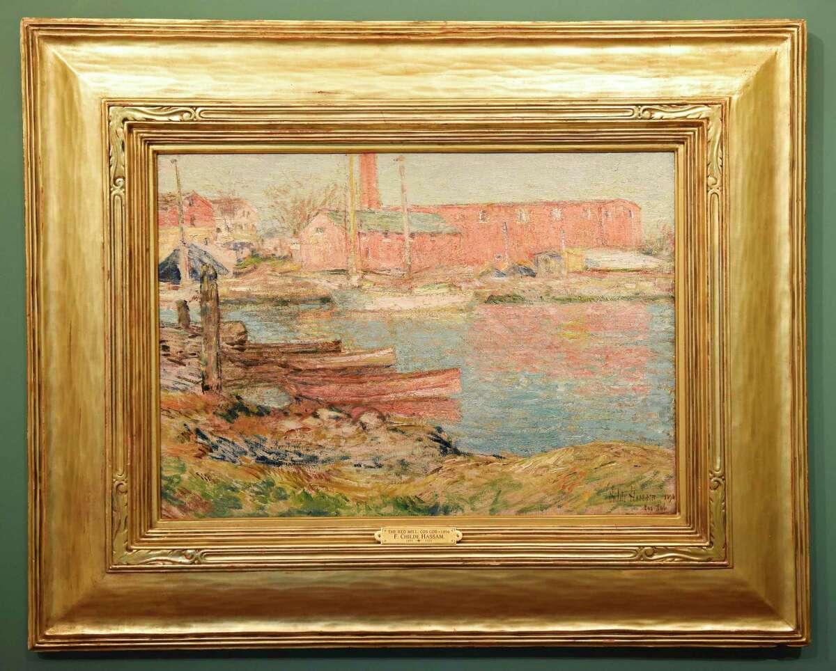 Childe Hassam's 1896 painting