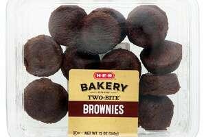 H-E-B Two Bite Brownies: