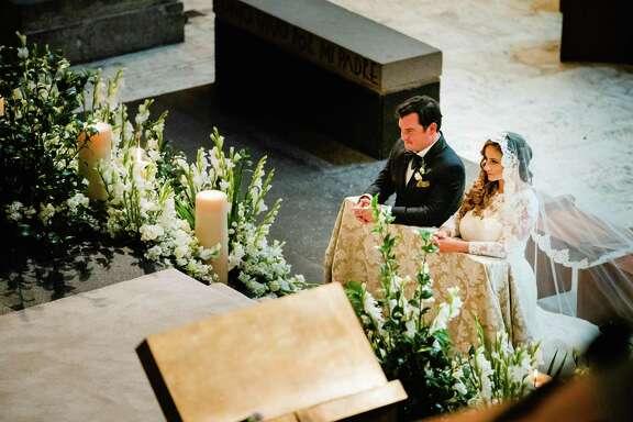 Sara Padua and David Cordua tie the knot in Mexico