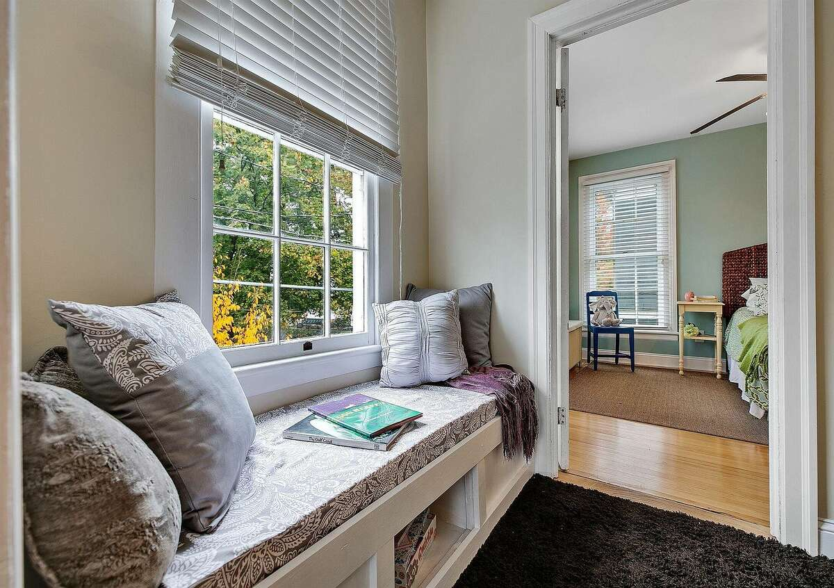 Scroll through the photos to below to take a look inside five Capital Region homes for sale with cozy built-in window seats.