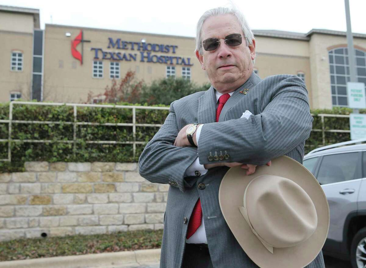 """Dr. J. Marvin Smith III, a cardiothoracic surgeon, alleges """"vindictive leaders"""" at Methodist Healthcare System of San Antonio are ruining his career by waging a """"smear campaign"""" against him - first by saying his patients had excessive or """"unacceptable"""" mortality rates for certain surgeries, and then asserting he has a medical condition that prevents him from safely practicing medicine."""