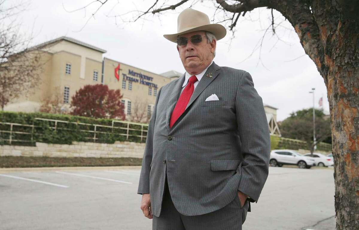 Dr. J. Marvin Smith III, a thoracic surgeon and former head of the Bexar County Medical Society, has sued Methodist Healthcare System for at least $5 million.