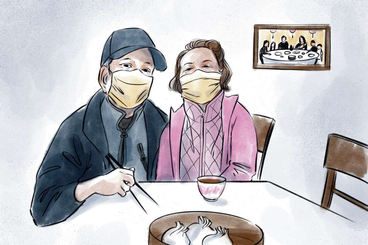 Cheung Yinching and her husband discuss the meaning dim sum brings to their lives - and how the pandemic has changed their weekly tradition.