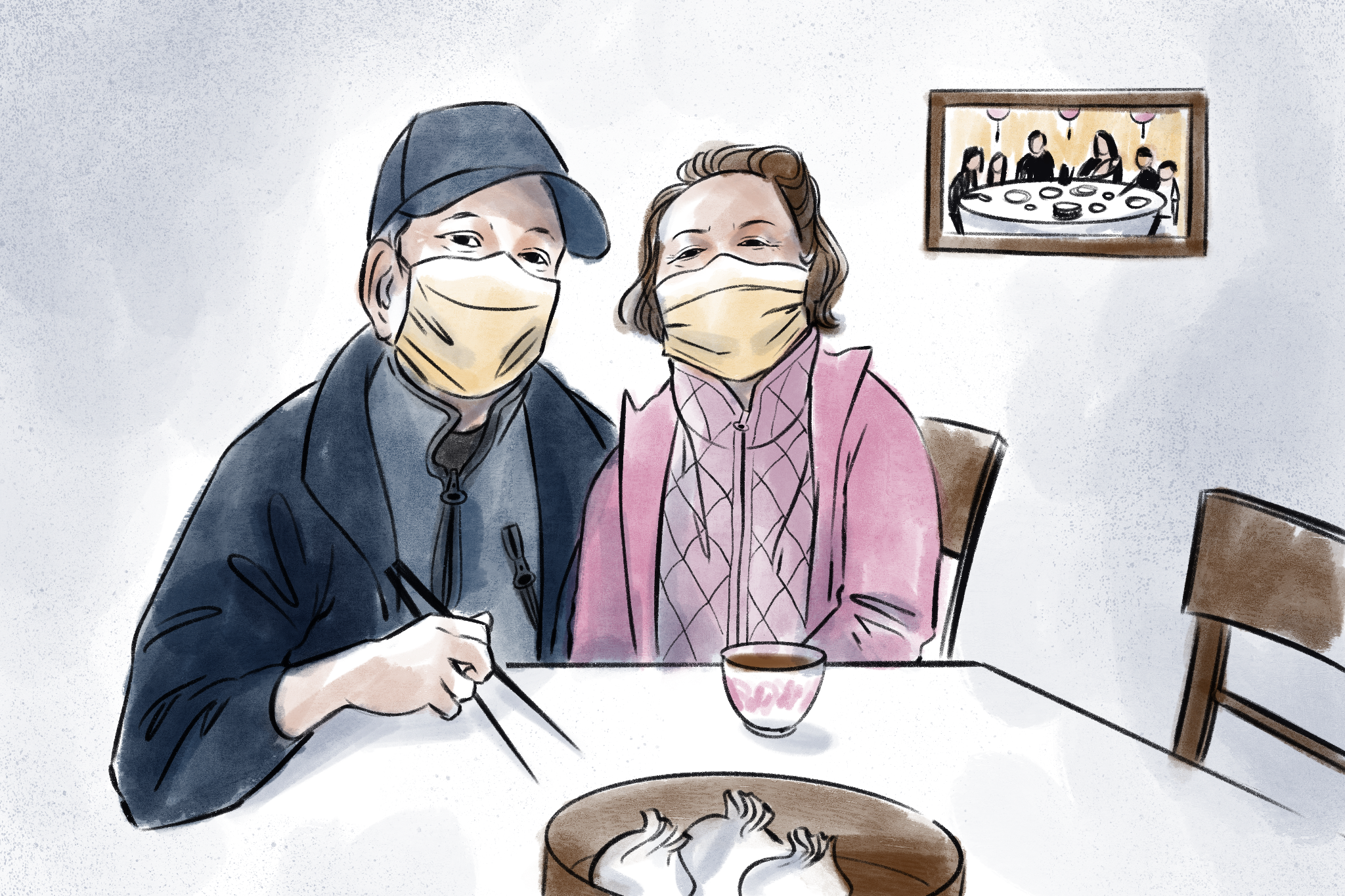 'Our hearts are hurting': Elderly Chinese isolated as dim sum restaurants shutter in pandemic