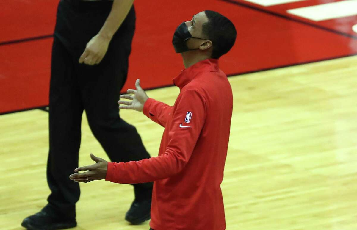 With James Harden dealt to Brooklyn, coach Stephen Silas is charged with reversing the Rockets' 3-6 start.