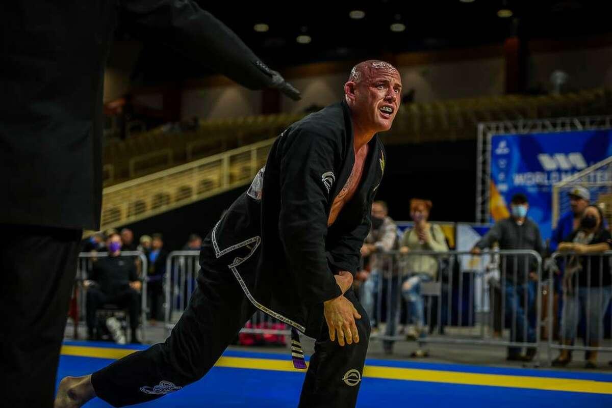 Bastos Brazilian Jiu-Jitsu grappler Cyril Jeff pictured at the IBJJF World Master in December, 2020, in Kissimmee, Florida.