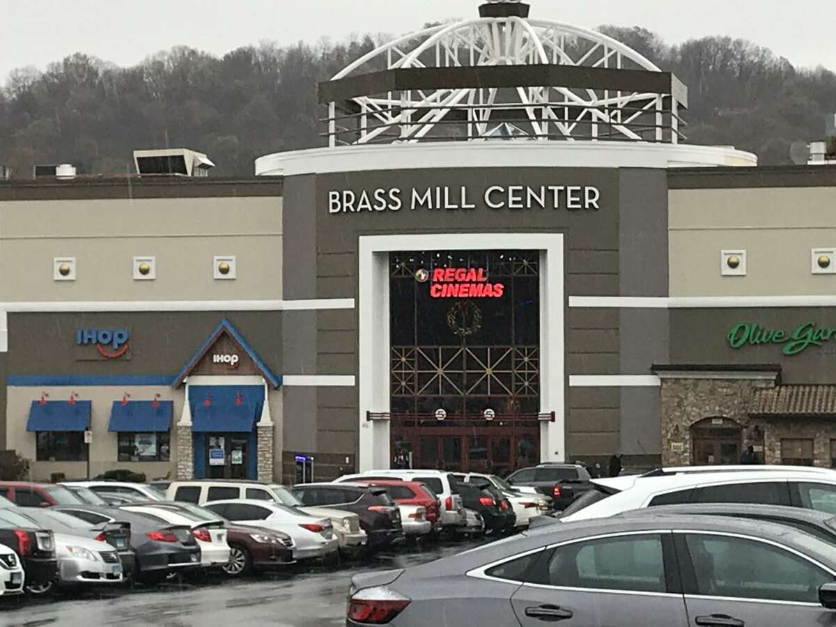 The exterior of Waterbury's Brass Mill Center mall shown on Friday, November 22.
