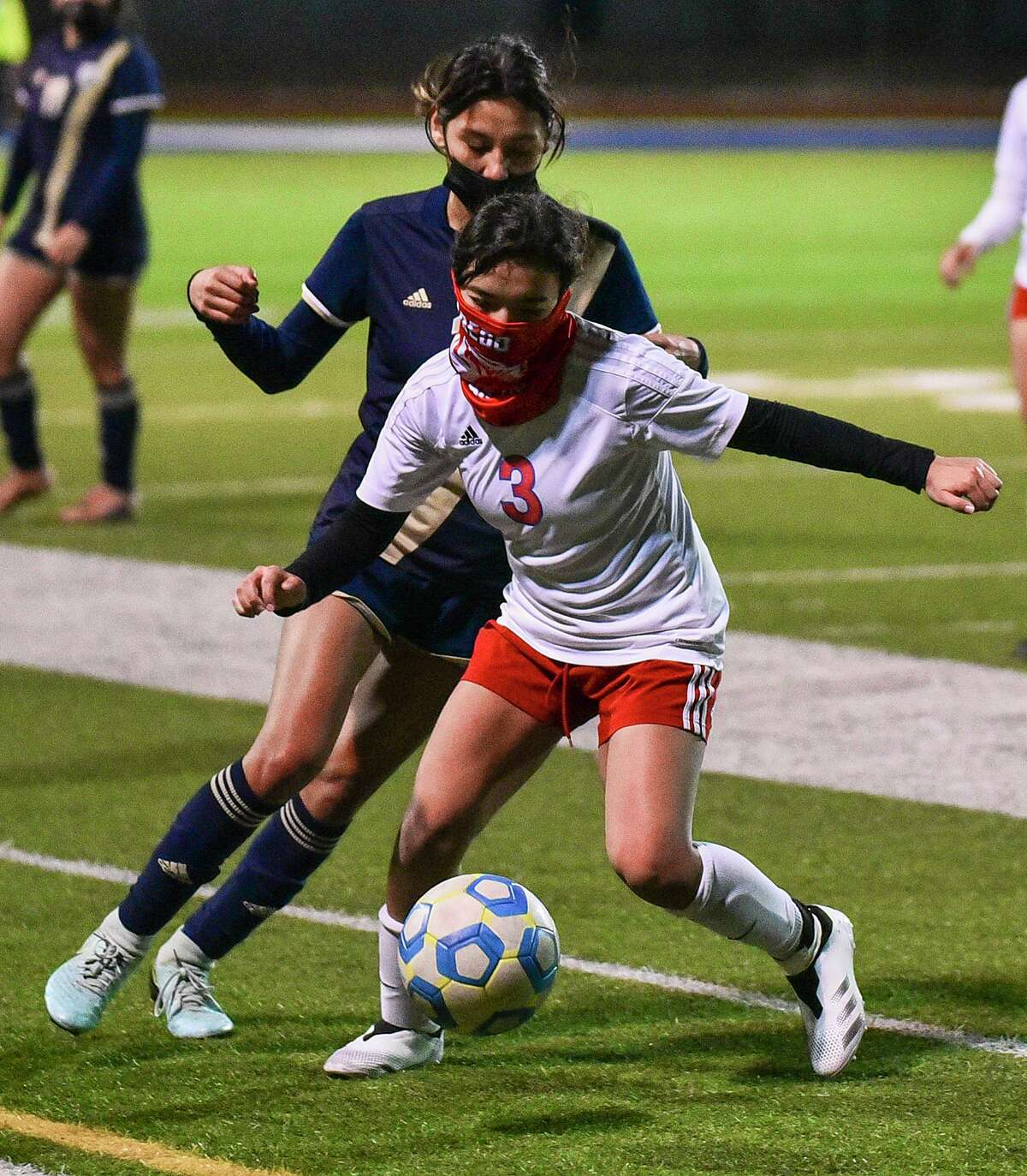 After falling 1-0 Tuesday against Alexander, Katherine Delgadillo and Martin will have to wait weeks until their next game with LISD canceling all remaining non-district games.