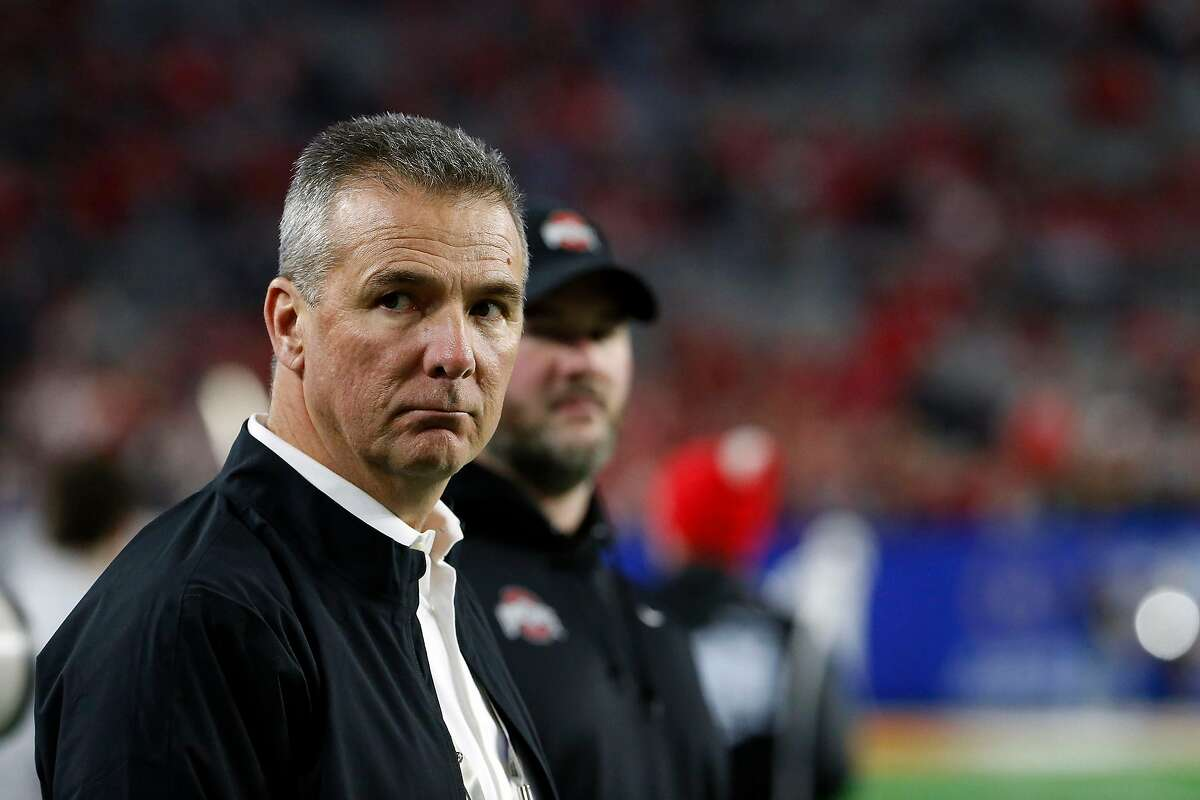 Urban Meyer left Ohio State after the 2018 season, citing health issues. Before that, he served a three-game suspension for how he handled domestic-abuse allegations against an assistant.