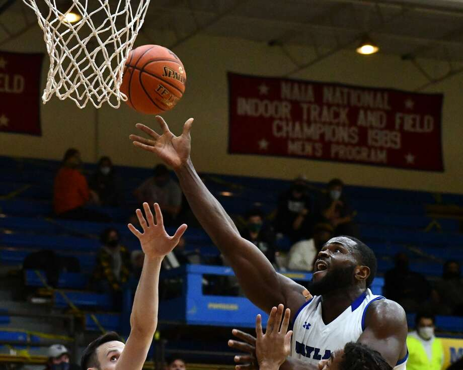 Wayland Baptist's basketball teams finally returned to action inside the Hutcherson Center during a Sooner Athletic Conference doubleheader against Southwestern Christian on Thursday. Photo: Nathan Giese/Planview Herald