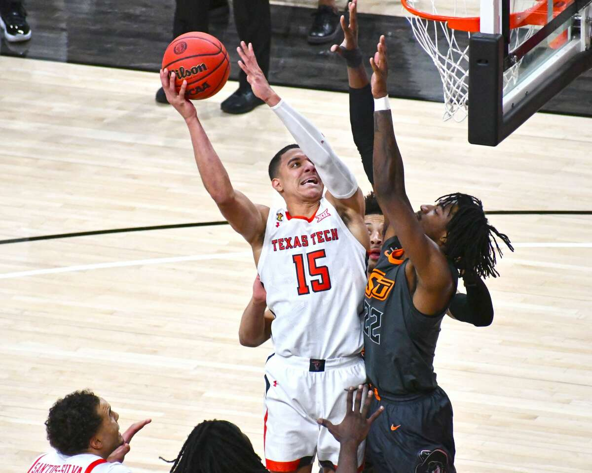 Kevin McCullar and the 15th-ranked Texas Tech Red Raiders will host second-ranked Baylor on Saturday afternoon.