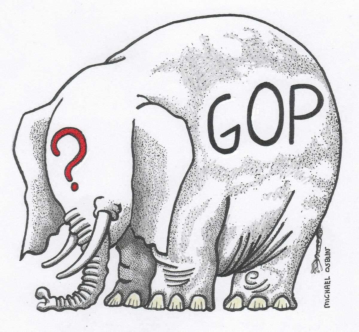 Illustration on future of GOP.