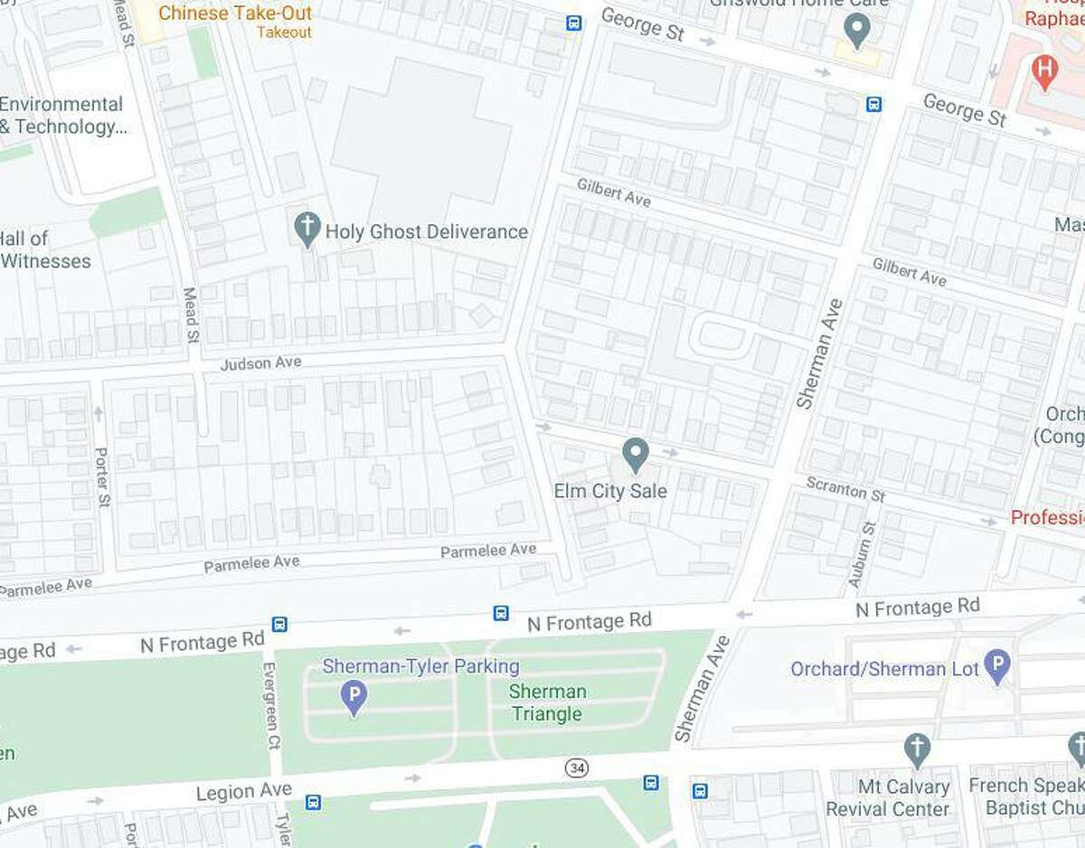 A man was shot on Winthrop Avenue between Parmelee and Judson avenues Thursday night, according to New Haven police.