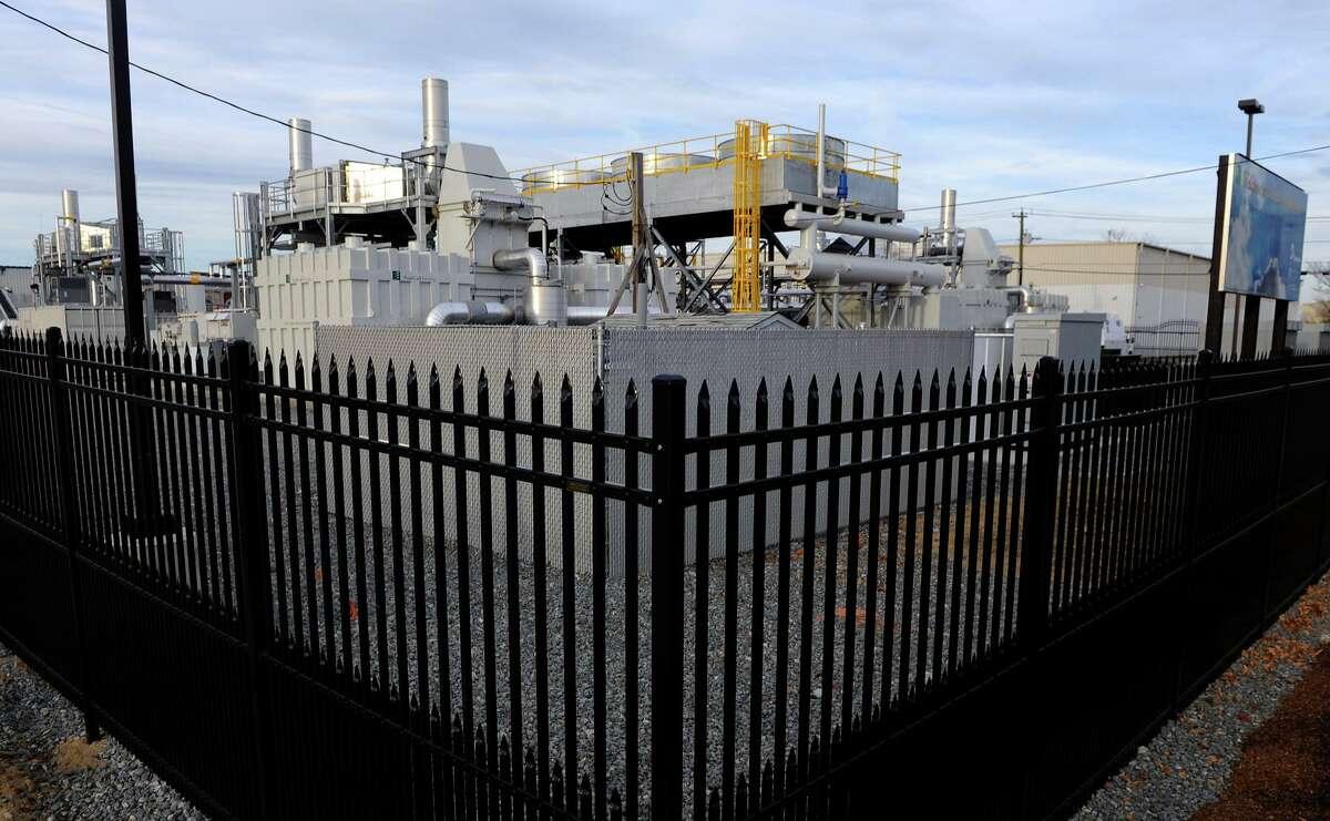A 14.9-megawatt fuel cell plant off Railroad Avenue in Bridgeport.