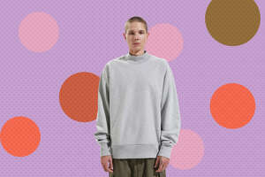 Champion UO Exclusive Reverse Weave Mock Neck Sweatshirt  for $23.99 at Urban Outfitters
