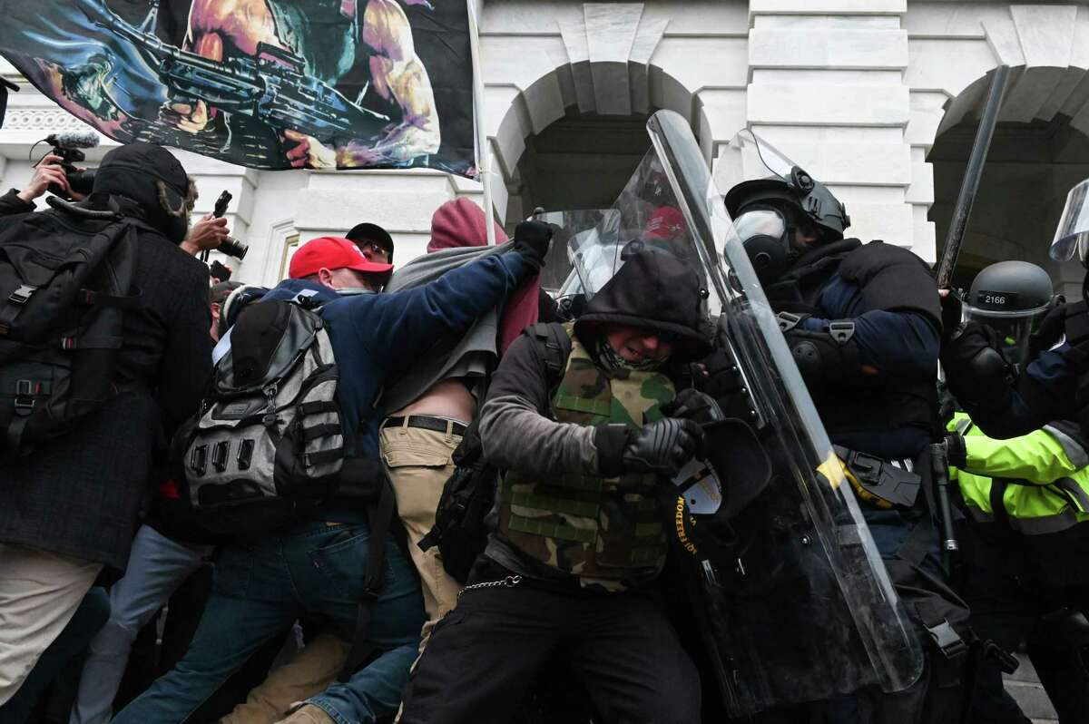 The mob from this month's insurrection attacks Capitol Police officers. The attack is steeped in this country's racist history. The United States is no stranger to mob violence, particularly when inflamed by election results brought about by African Americans' participation.