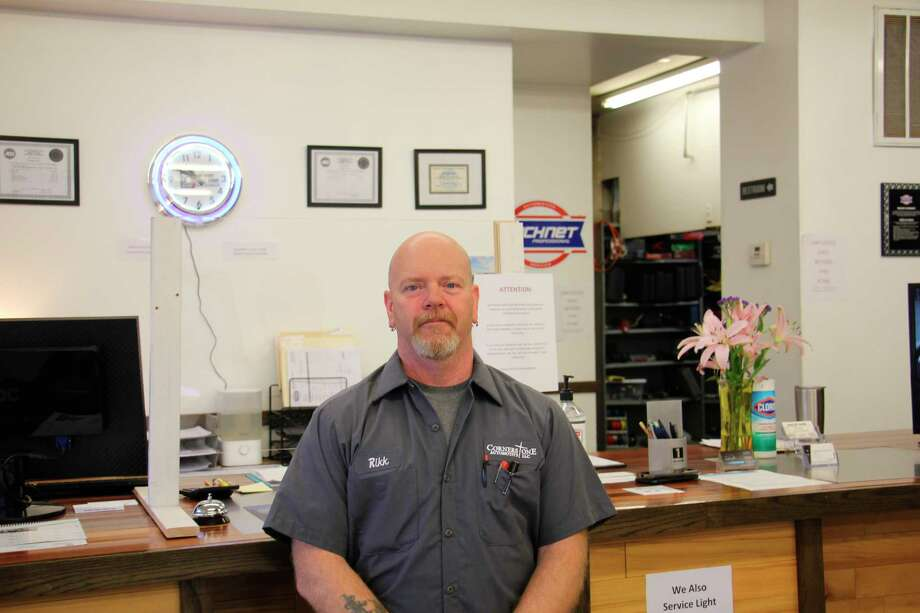 Cornerstone Automotive LLC opened in Pigeon Jan. 4, and has since seen a positive response from the community. Richard Wills, owner and ASE certified master mechanic, takes pride in providing high quality, timely service. (Paige Withey/Huron Daily Tribune)