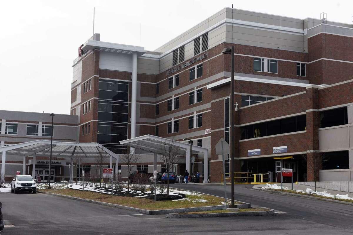Exterior of Samaritan Hospital on Friday, Jan. 15, 2021, in Troy N.Y. (Will Waldron/Times Union)