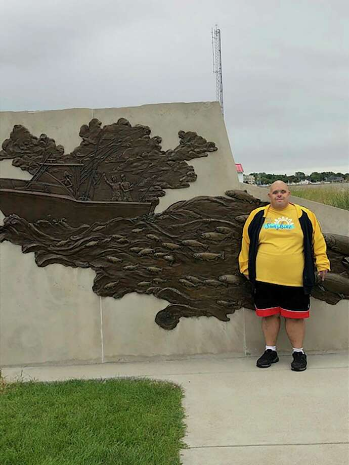 Erik Boerema, 41, has found ways to adapt to the COVID-19 restrictions. Erik has Down syndrome and receives services through West Michigan CMH. (Courtesy/West Michigan CMH)