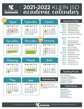 Spring, Klein school notebook: Klein ISD approves calendar for