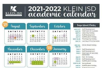Klein Isd Calendar 2022 23.Spring Klein School Notebook Klein Isd Approves Calendar For 2021 2022 School Year