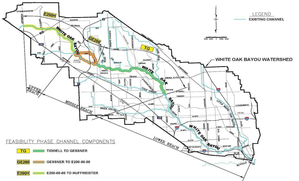 The purpose of the drainage development is to re-develop the existing area south of US 290 and create an opportunity for quality growth andeconomic development according to the long-term plan.