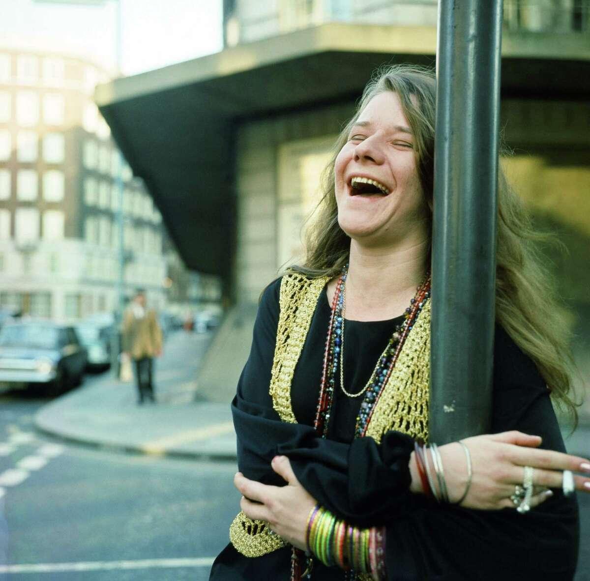 Janis Joplin in London.