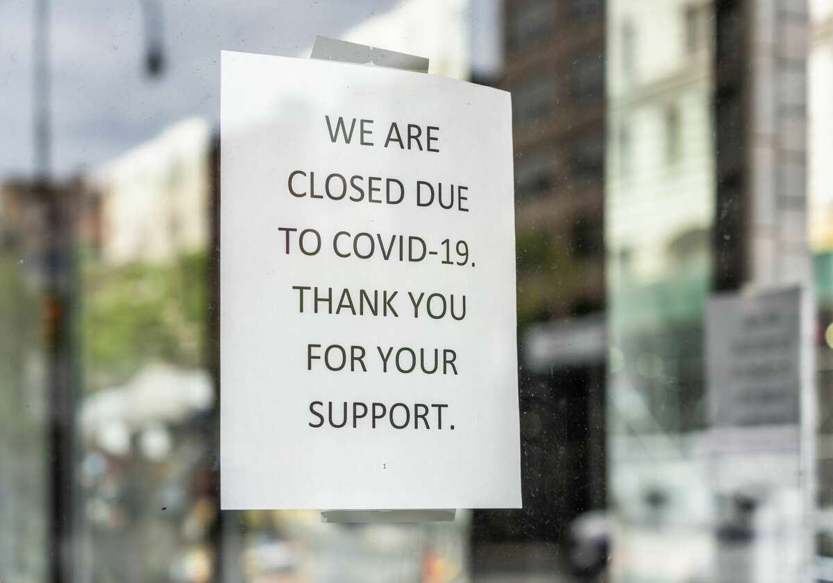 This closed sign reflects how one business communicated their message to customers during the pandemic.