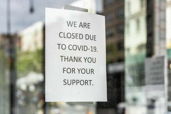 With the onset of Covid-19 in the year 2020, all businesses had to deal with the contagion in their own way. Some businesses closed entirely while others had to change their manner of operations. This sign reflects how one business communicated their message to customers in New York.