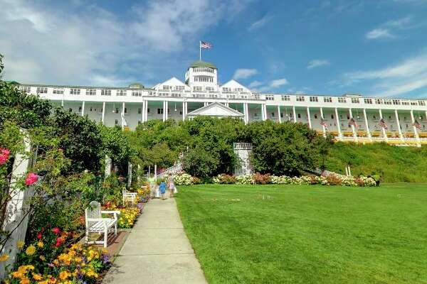 Midland Parks and Recreation, in partnership with the Michigan Recreation and Park Association (mParks) announced the 10th annual all-inclusive travel experience to the historic Grand Hotel on Mackinac Island forSept. 28 - Oct. 1, 2021. (Screen photo/Google Maps)