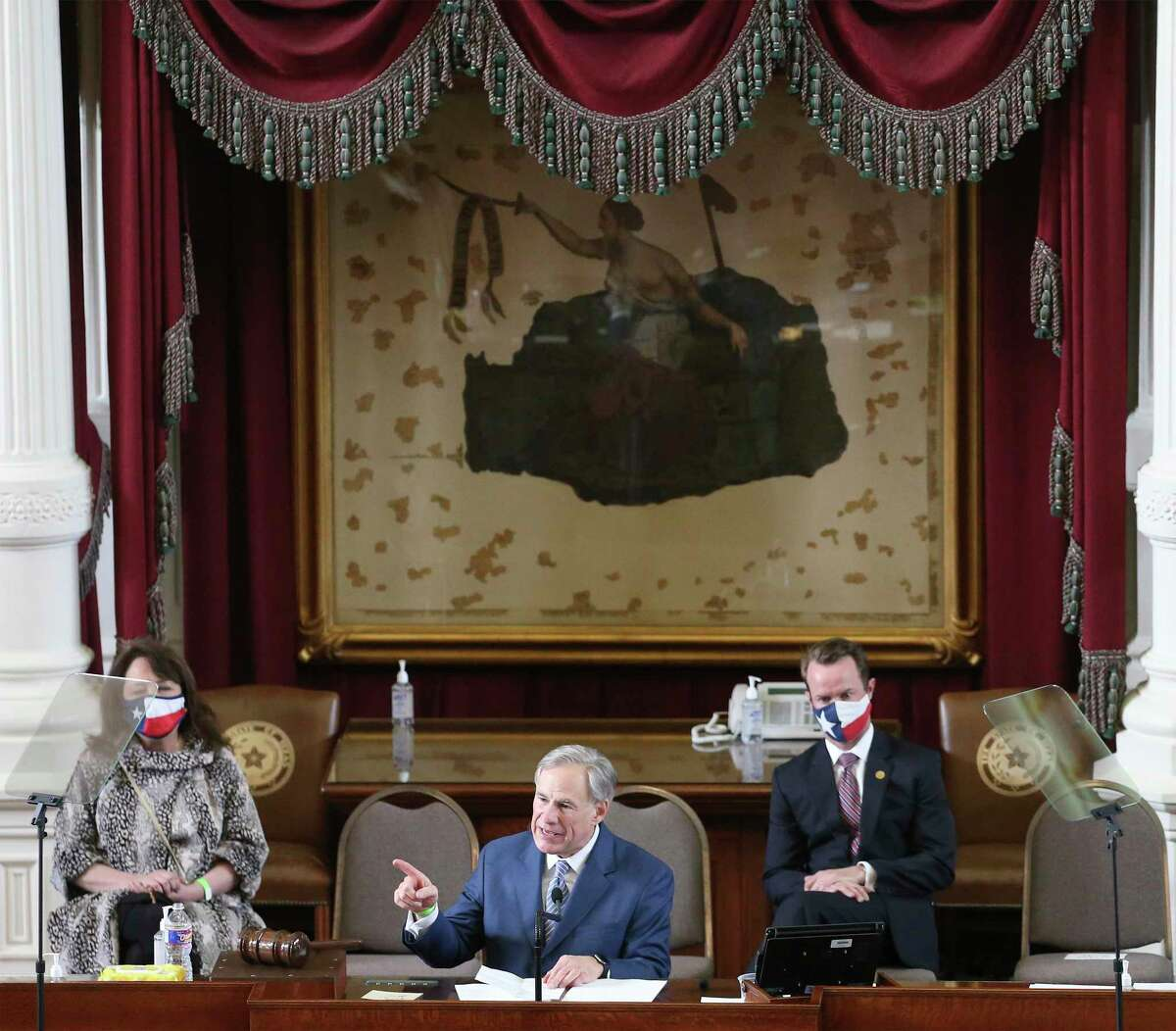Texas Governor Greg Abbott delivers a speech to kick off the 87th Legislature. We expect lots of political posturing when energy could be spent on real issues. C'mon Lege, surprise us.