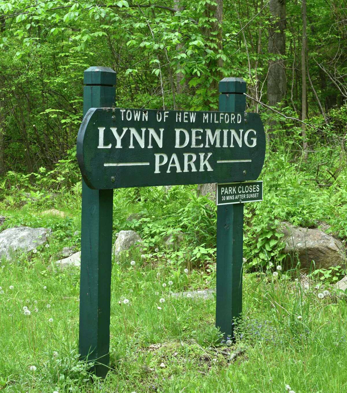 Renovations at Lynn Deming Park, in New Milford, Conn, are nearing completion. May 23, 2017.