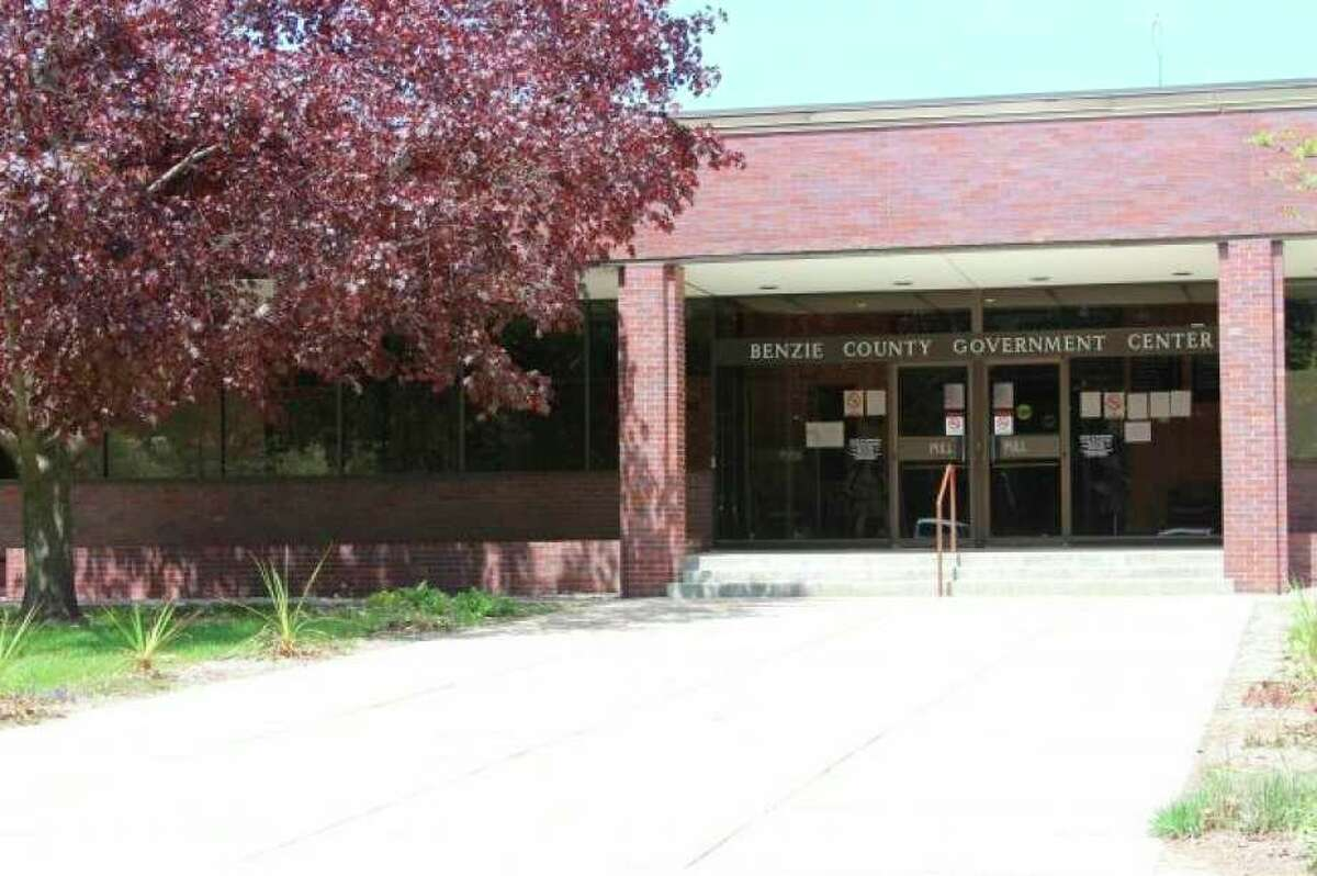 The Benzie County Government Center will be closed to walk-in visits until Jan. 27. (File Photo)