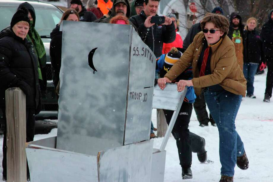 Wintefest, which features the outhouse race, was canceled for 2021 due to restrictions and the continued COVID-19 pandemic. (File Photo)