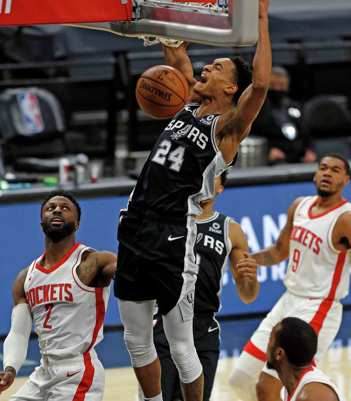 Spurs rookie Devin Vassell has made an immediate impact with his all-around game off the bench.