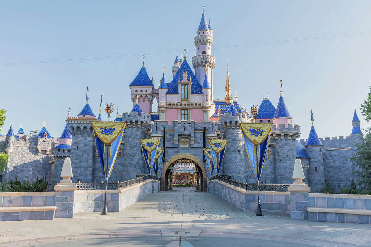 The Sleeping Beauty Castle at Disneyland Park.