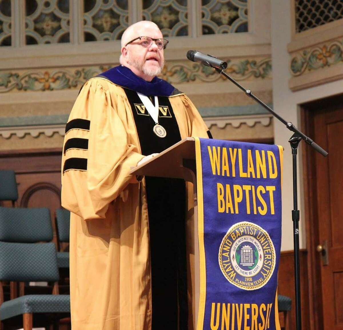 Michael Davis is a 1987 graduate of WBU. He will be honored as a distinguished alumnus during the 2021 Homecoming celebrations.