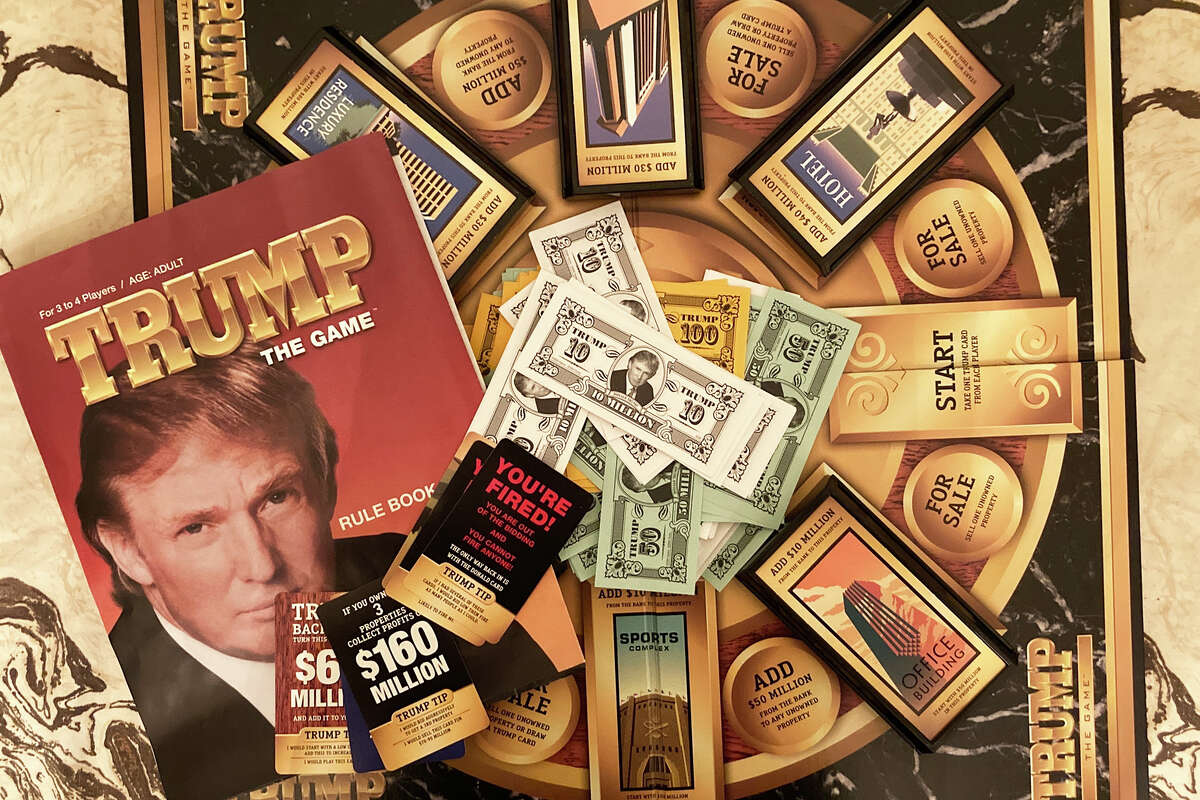 Trump: The Game was originally released in 1989, then reissued in 2004. It is not a very good game.