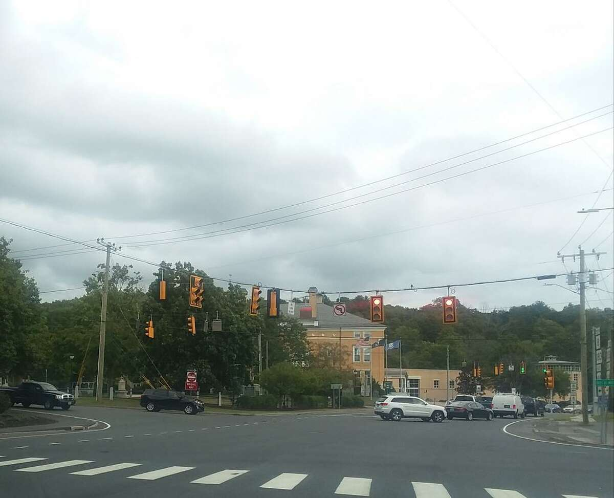 Route 44 in Winsted, Conn.