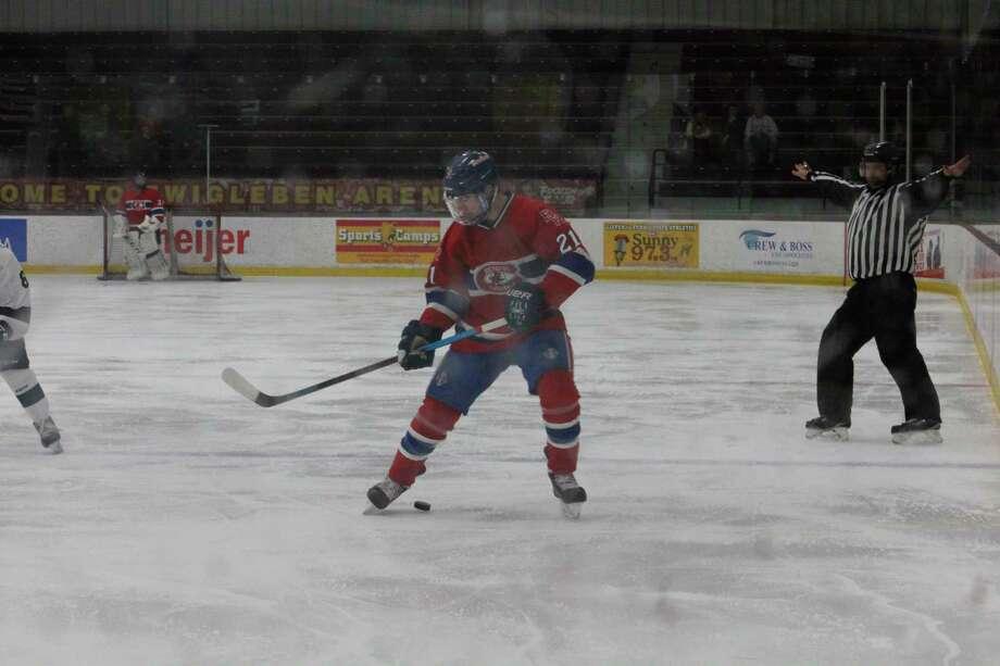 Big Rapids' hockey team is set to restart practices next week. (Pioneer file photo)