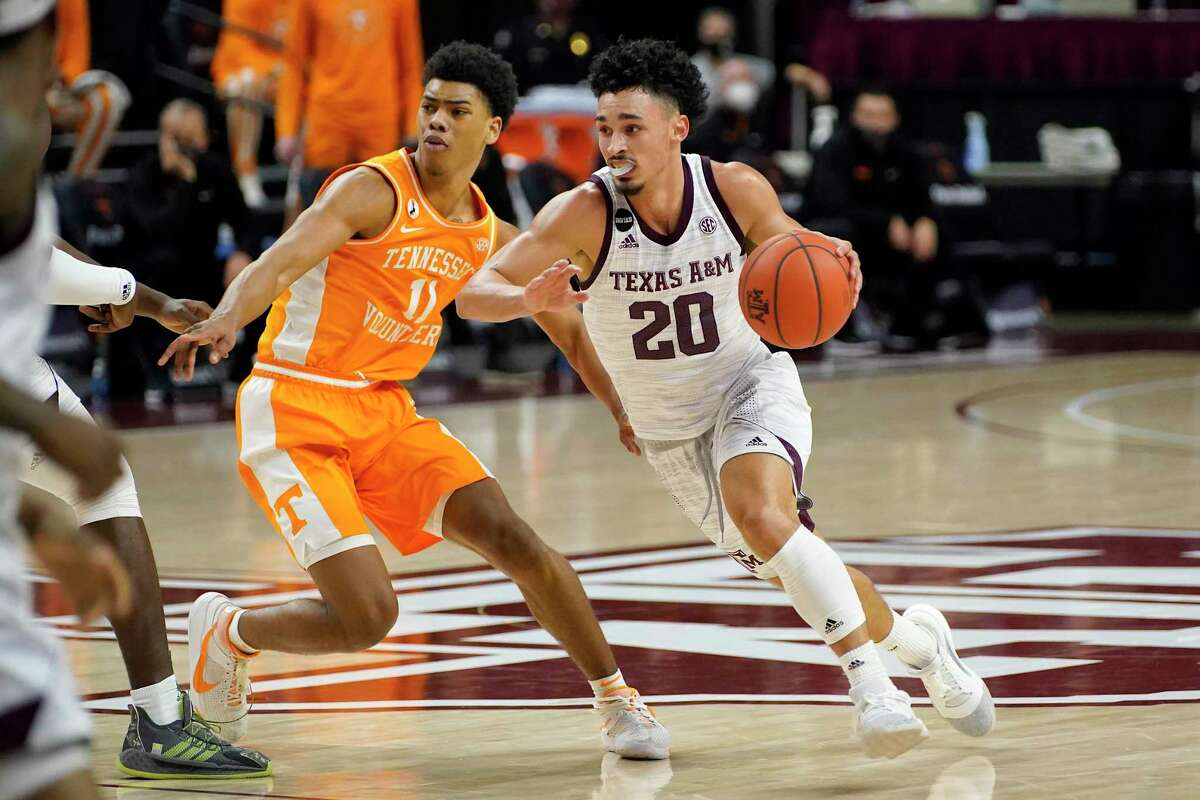 Texas A&M sophomore guard Andre Gordon has made game-winning shots against Auburn and Mississippi State.