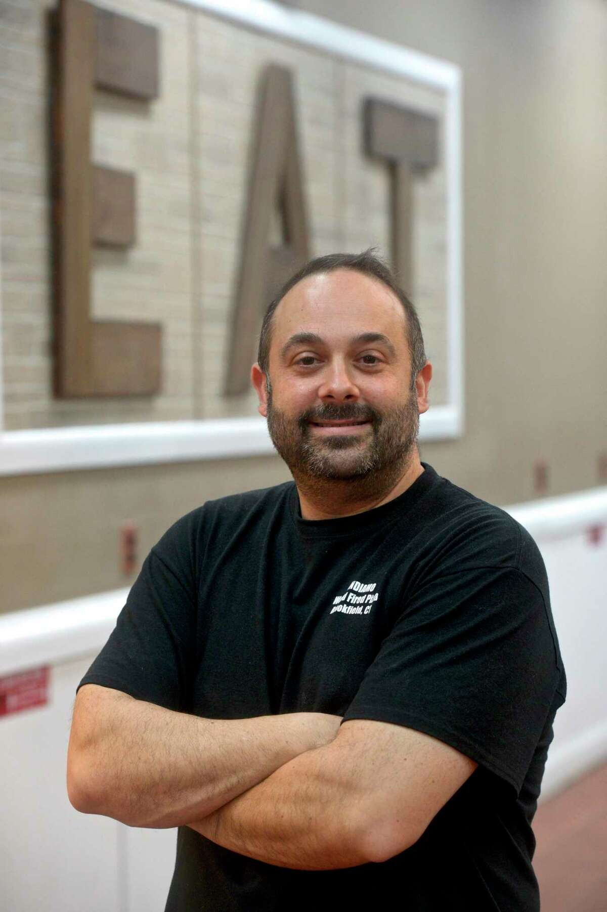 Franco DeRose and his wife Ana have opened Andiamo Wood-Fired Pizza in Candlewood Lake Plaza in Brookfield, Conn. Friday January 15, 2021.