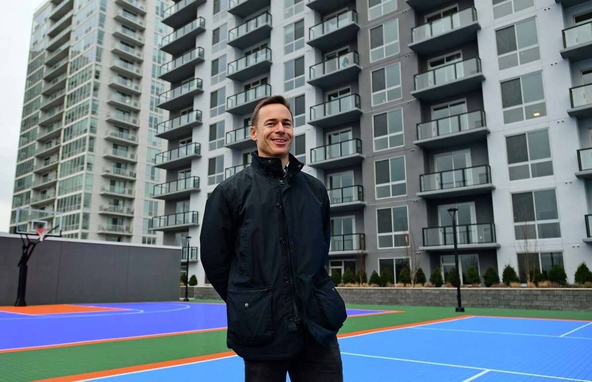 Building and Land Technology is opening its newest Building in Harbor Point and BLT president Ted Ferrarone gives tour of the property Friday, January 15, 2020, in Stamford, CT.